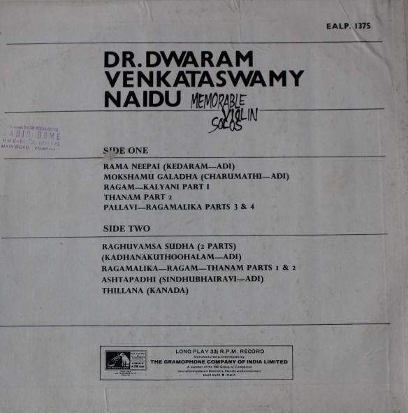Dr. Dwaram Venkataswamy  Naidu