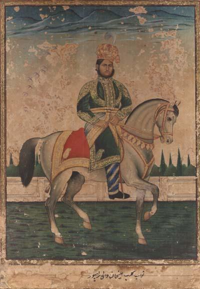 Nawab Kalb-e-Ali Khan of Rampur