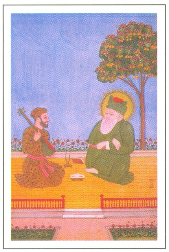 Khusrau and Nizamuddin