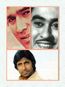 Rajesh Khanna, Kishore, Amitabh Bachchan