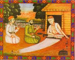 Kabir Das and disciples