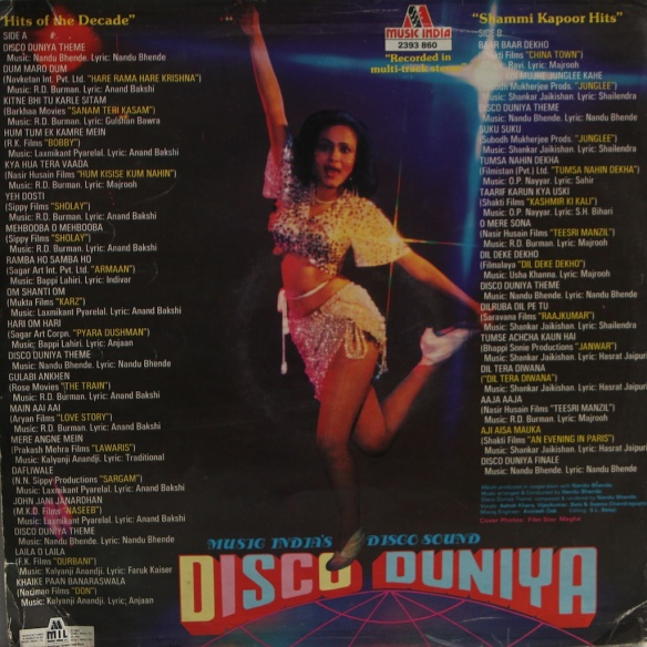 Disco Duniya back