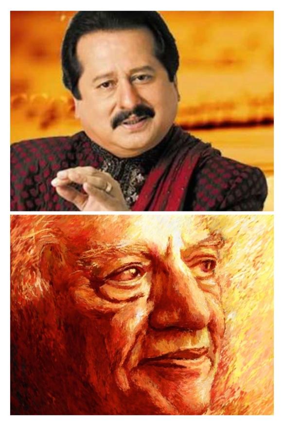 Pankaj Udhas and Faiz Ahmed Faiz